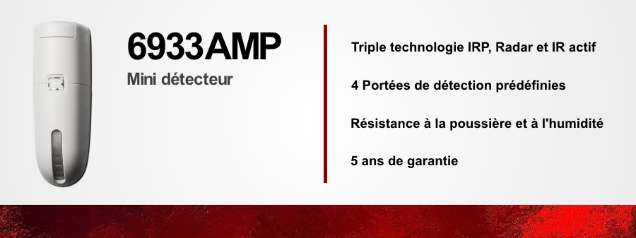 Détecteur 6933AMP (LoC)